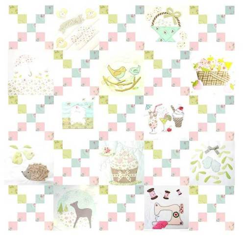 COMPLETE Sweetest things Sampler Title sheet cropped